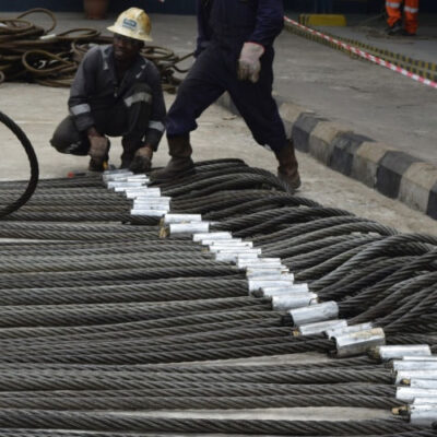 Galvanized Wire Ropes in 6 X 19, 6 X 25 and 6 X 36